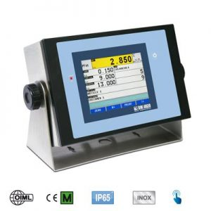 Touch Screen Weight Indicators
