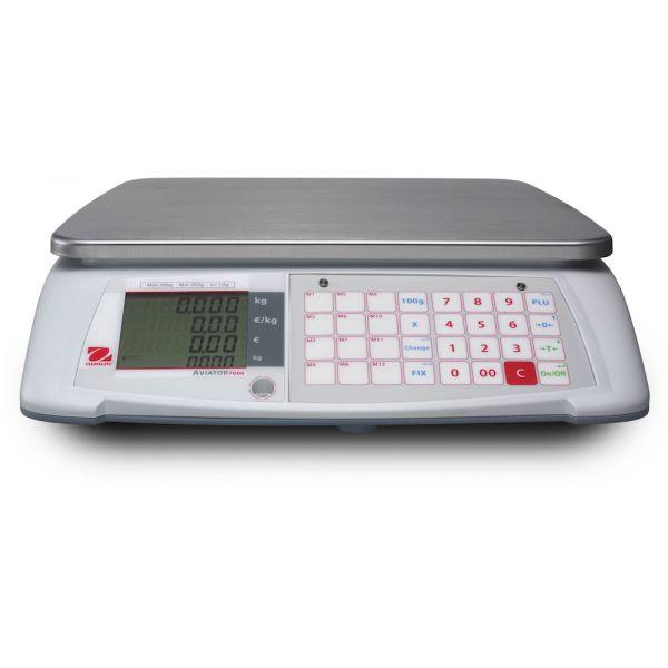 Ohaus Aviator 7000 Price Computing Retail Scales
