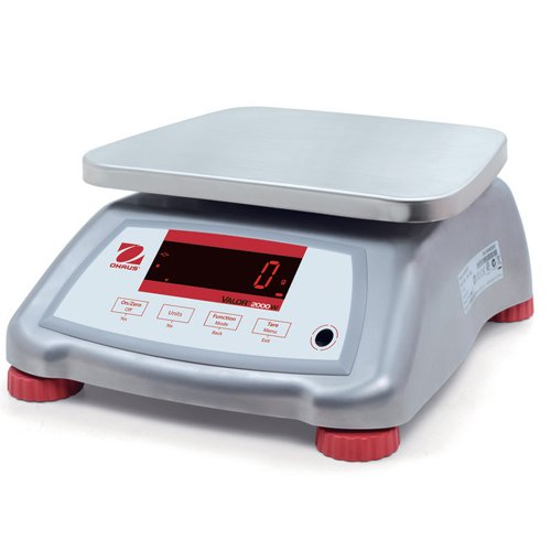 Ohaus Valor 2000 Stainless Steel Bench Scales