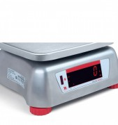Ohaus Valor 4000 Stainless Steel Food Production Scales With Rear Display