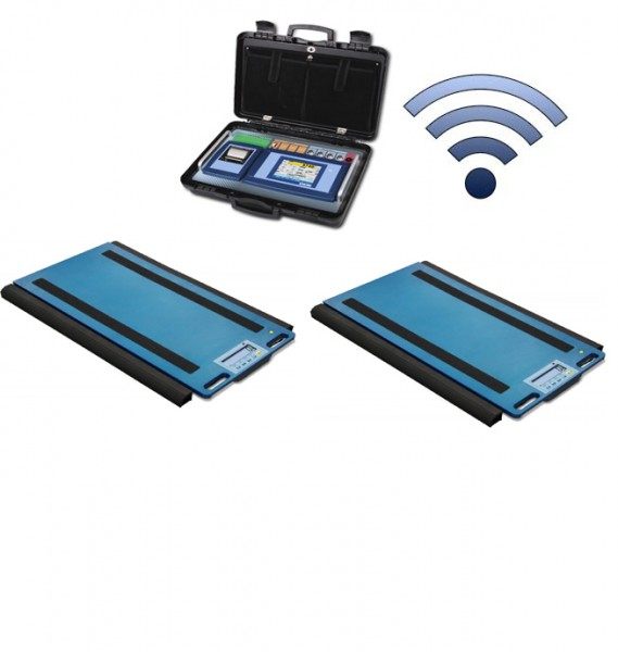 Set Of 2 WWSERF Wireless Weigh Pads With 3590ETKR Touch Screen Weight Indicator