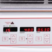 Units slowly increase speed to desired setpoint to avoid splashing. Digital models feature overload protection.