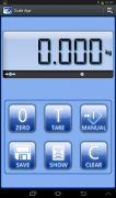 Dini Argeo Scaleapp shows weight display