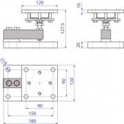 KSBN Assembly Kit Dimensions