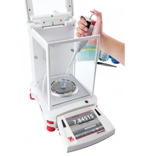 Ohaus Explorer Semi-Micro Balance For Laboratory Use