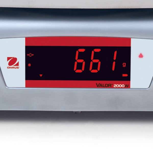 Ohaus Valor 2000 Stainless Steel Read Display