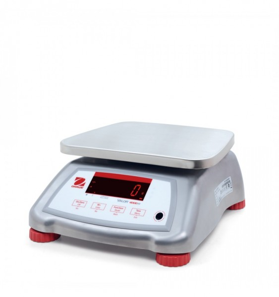 Ohaus Valor 4000 Compact Waterproof Stainless Steel Bench Scales
