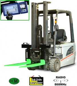 Dini Argeo Fork Lift Scales