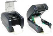 Ribbons and rolls are easy and simple to change with the LP542TT Thermal Label Printer