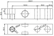 SBX-1K Series 10,000kg Capacity Dimensions