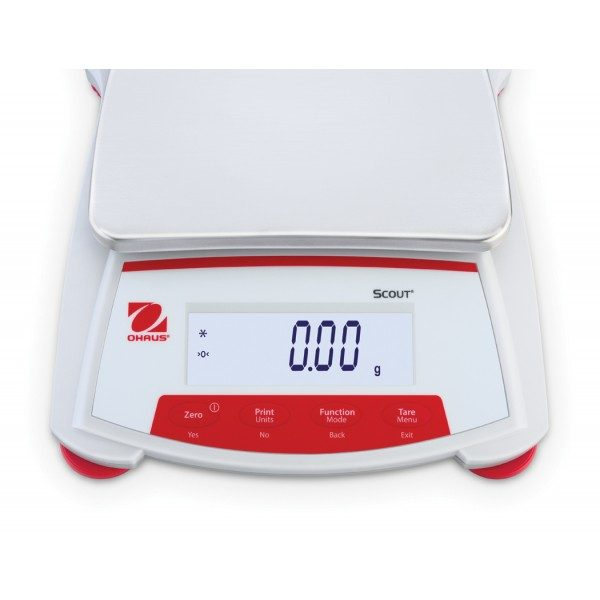 The Ohaus Scout SKX series of portable precision balances