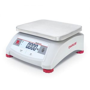 The Ohaus Valor 1000 series is a reliable choice for general food weighing