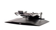 Shekel H351-4 Multifunctional Wheelchair Scale With Two Ramps In Collapsed Form