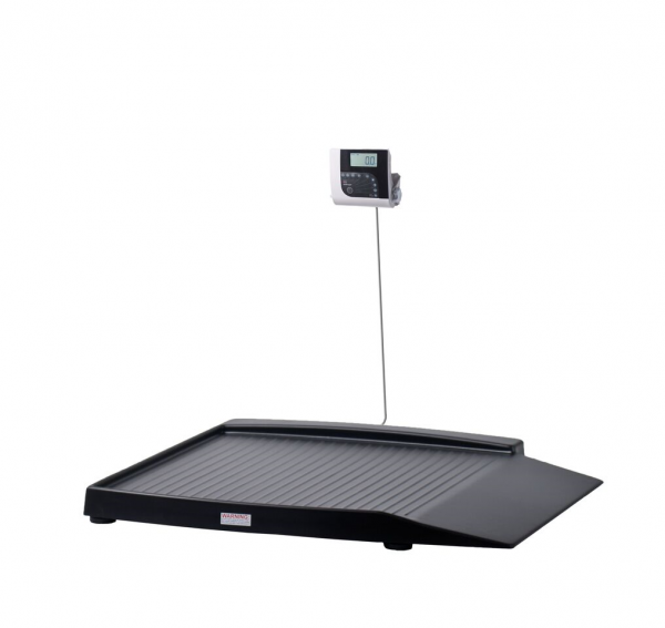 Shekel H351-7 Wheelchair Scale With Wide Ramps