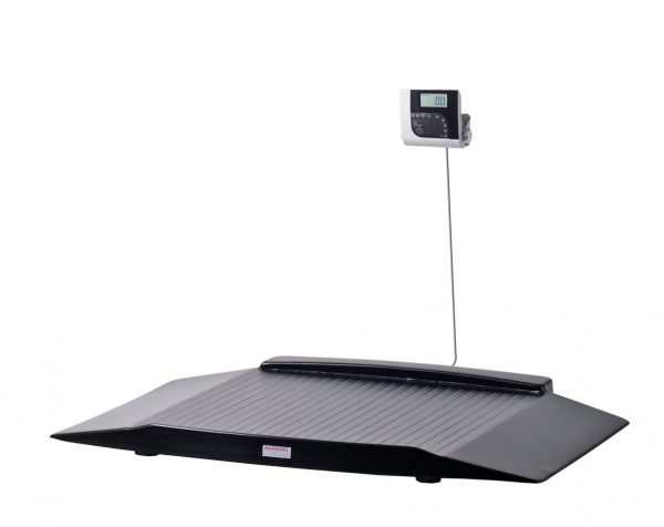Shekel H351-8 Wheelchair Scale With Two Wide Ramps