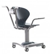 Shekel H551-1 Medical Chair Scale Rear View
