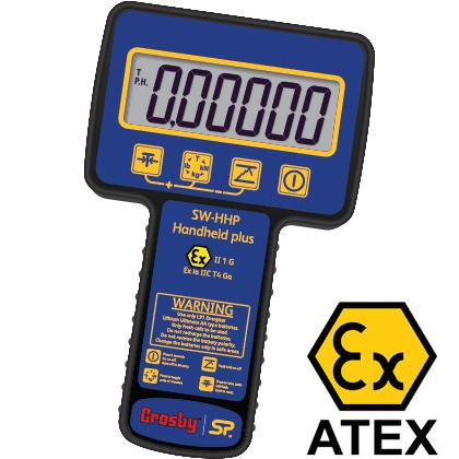 ATEX Version of the Straightpoint Handheld Plus Display Unit