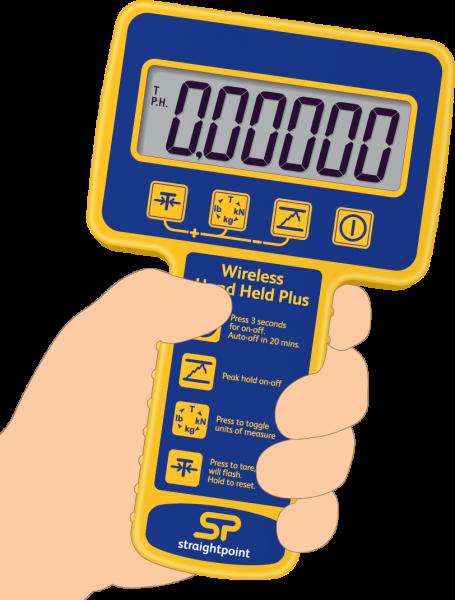 SW Hand Held Plus Wireless Weight & Overload Indicator