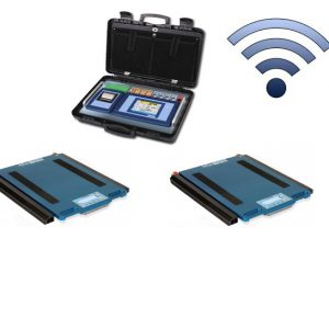 Set Of 2 WWSCRF Wireless Weigh Pads With 3590ETKR Touch Screen Weight Indicator