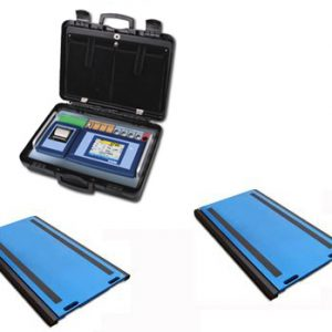 Set Of 2 WWSD Axle Weigh Pads With 3590ETKR Touch Screen Weight Indicator