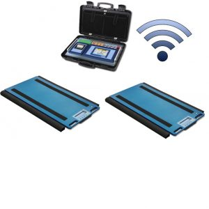 Set Of 2 WWSDRF Wireless Weigh Pads With 3590ETKR Touch Screen Weight Indicator