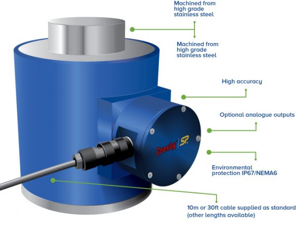 Straightpoint NI Compression Load Cell - Features
