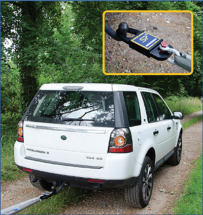 Straightpoint Towcell - engineered for the emergency services, salvage and 4 x 4 industries