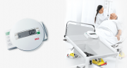 Weighing bed ridden patiens is a simple and easy process with the Seca 985 Bed & Dialysis Scales