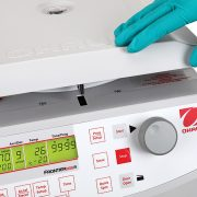 Frontier 5515(R) has a lid locking system and sensor that stops the centrifuge if the rotors become imbalanced