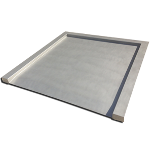 VWDIS Stainless Drive-In Platform Scales with Built-in Ramp