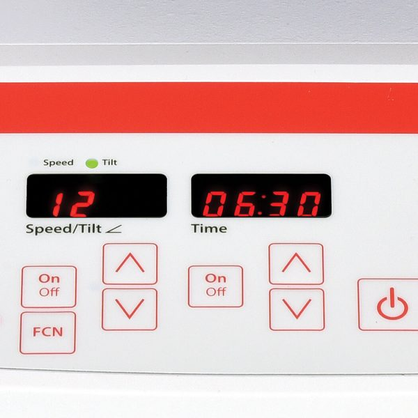 Digital models are equipped with LED displays and touchpad controls for speed, tilt angle and time
