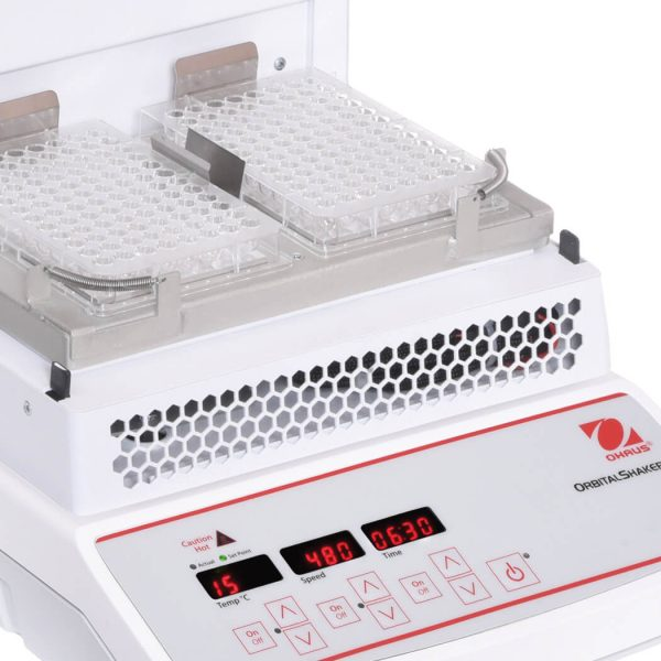 The variable speed microprocessor control provides consistent, uniform shaking action.