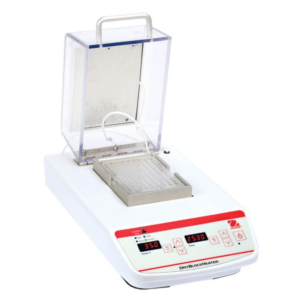 A second heater in the lid helps to minimize condensation to maintain sample integrity