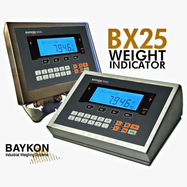 Baykon BX25 Process Control Advanced Weight Indicator