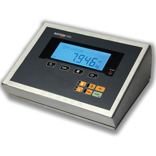 The BX-23 Weight Display is available with wall bracket