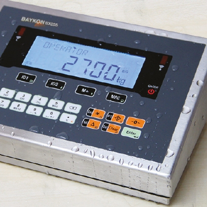 The New BX25 Weighing Terminal - IP67 For Harsh Environments