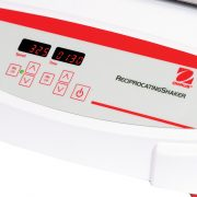 Touchpad controls with independent LEDs for speed time allow operator to view all settings at once.