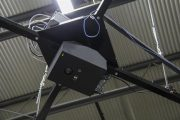 The iDimension 400 is ceiling mounted with suspension cable