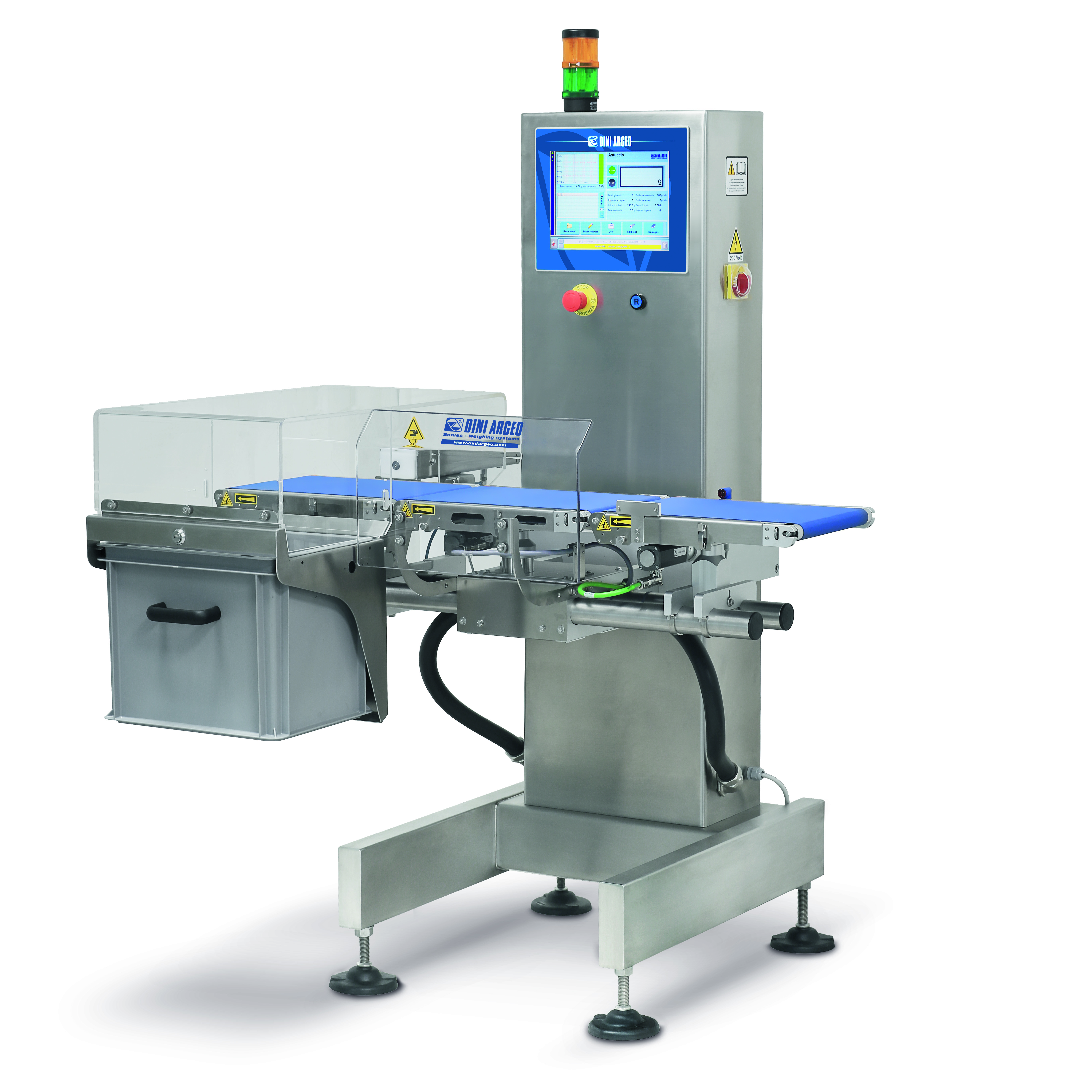 The DFLPRO High Speed Inline Checkweigher