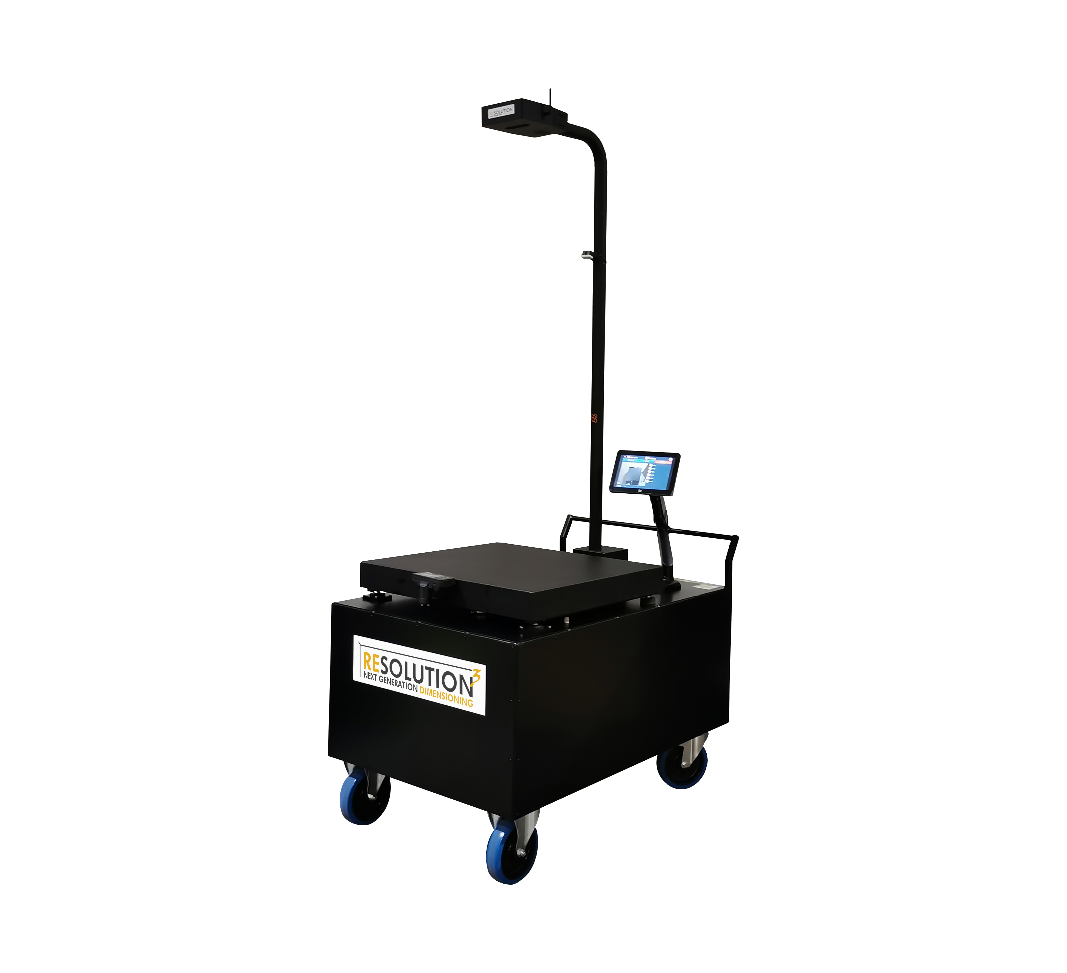 Resolution 3 The Portable Parcel Weigh Dimensioner, dimensioning