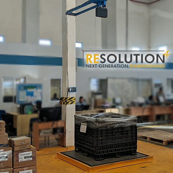 Resolution 4 - A complete weighing and dimensioning machine for pallets and large items