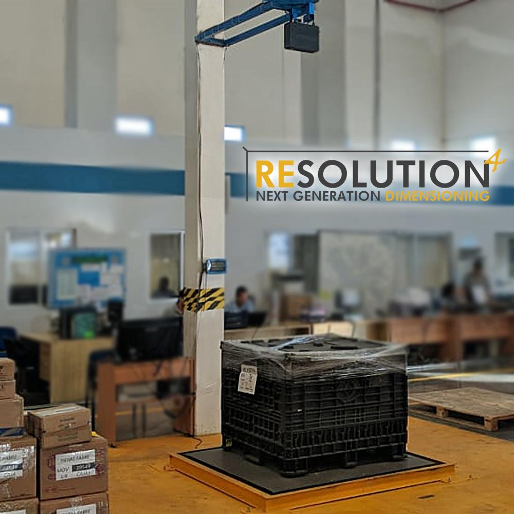 Resolution 4 - Pallet Dimensioner with Weighing Platform