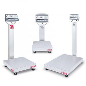 The Ohaus Defender 5000 Stainless Steel Range of Scales