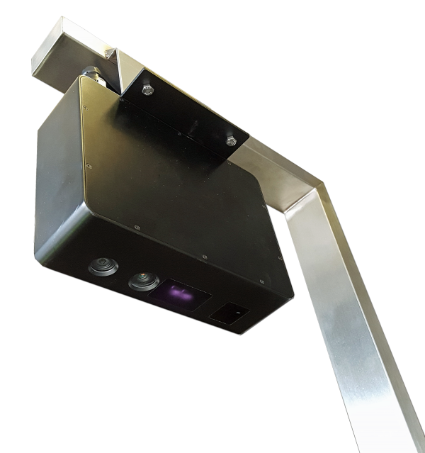 The Resolution 4 Dimensioner uses the Resolution 1 3D imaging camera