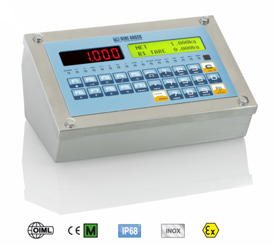 3590E ENTERPRISE 3GD series WEIGHT INDICATOR FOR ADVANCED APPLICATIONS IN ATEX 2 & 22 ZONES
