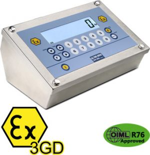 DFW ATEX3GD WEIGHT INDICATOR FOR ATEX 2 & 22 ZONES