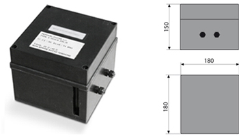 Marking of the whole box with three Zener barriers