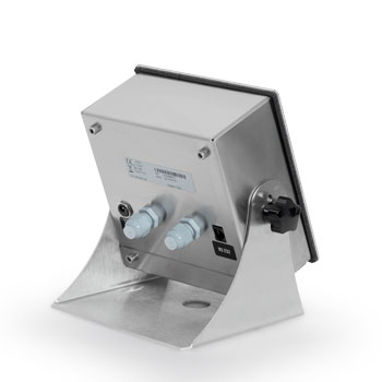 Multifunction weight transmitter for table or panel mounting.