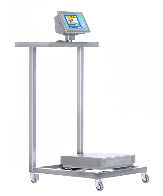 TB300I-1 Stainless Steel Cart Low Surface
