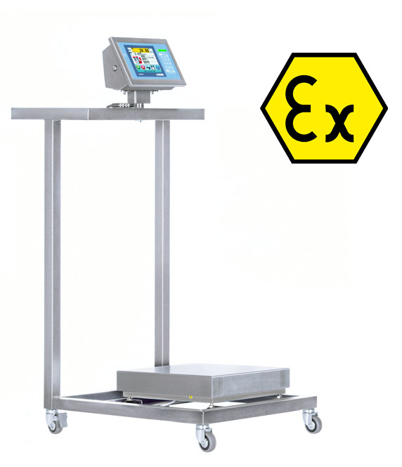 B300IEX-1 Stainless Steel Low Surface Cart